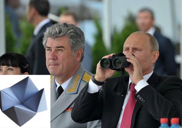 Poutine avoue finalement que le choix des cibles en Syrie seraient le fruit d'une cocotte en papier